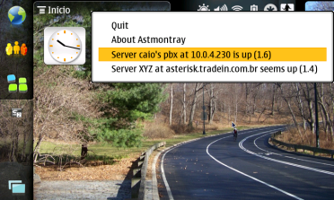 Astmontray running on OSX Leopard